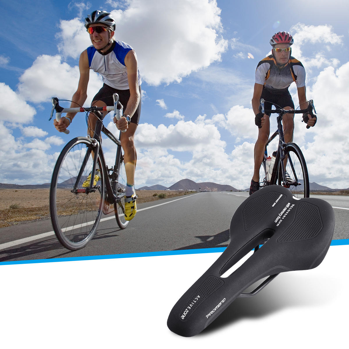 0a9c59ceedc Outdoor Sports Bike Saddle Comfortable Waterproof and Memory Foam Bicycle  Saddle MTB Road Saddle COD