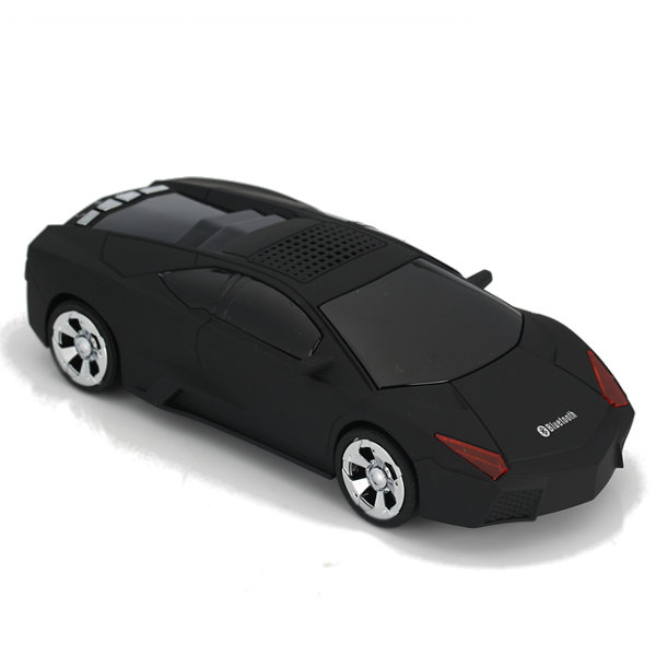 DS-700BT Roadster Sport Car TF Radio portatile AUX-in Re-dial basso pesante Bluetooth Speaker