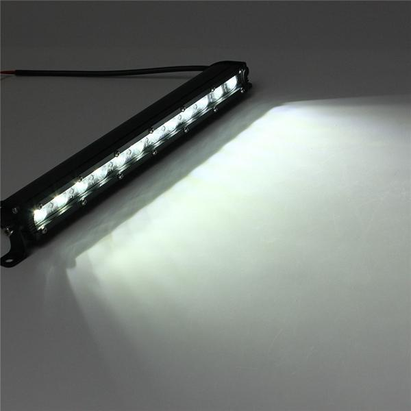 13inch 36w Led Work Light Bar Spot Flood Beam Lamp For