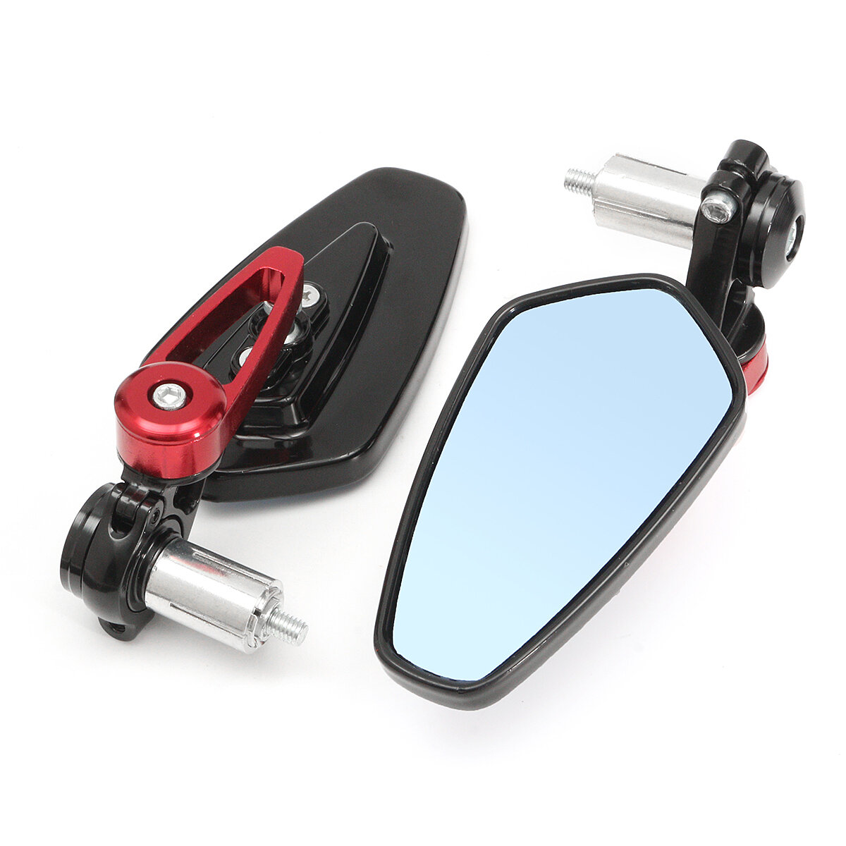 7/8inch Aluminum Rear View Side Mirror Handlebar End For Motorcycle Universal