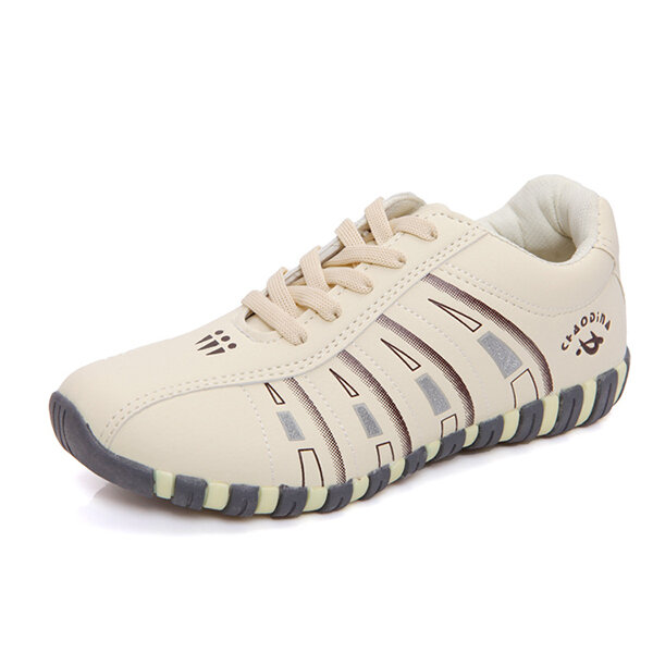 Stropdassen Lace Up Comfortabele Sport Casual Shoes For Women