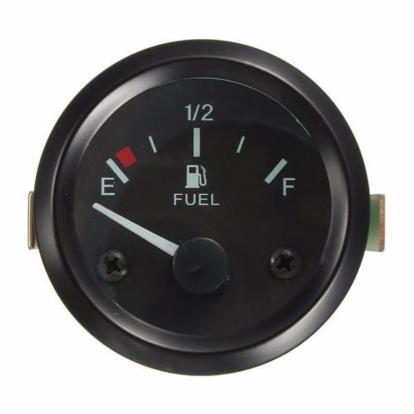 """Üniversal Araba Yakıt Seviye Göstergesi Metre Yakıtlı Sensör E-1/2-F İşaretçi 2 """"52mm"""
