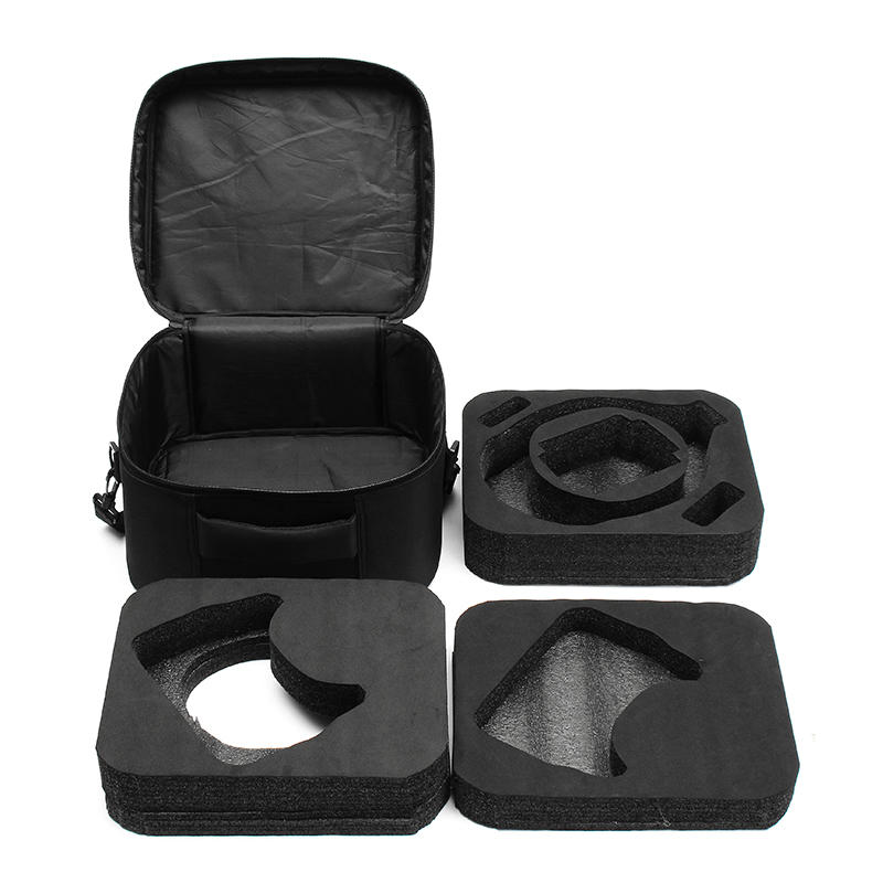 Realacc Shoulder Bag Hand Case Zipper With 2 Layer EVA Sponge Pad Detachable For DJI Goggles