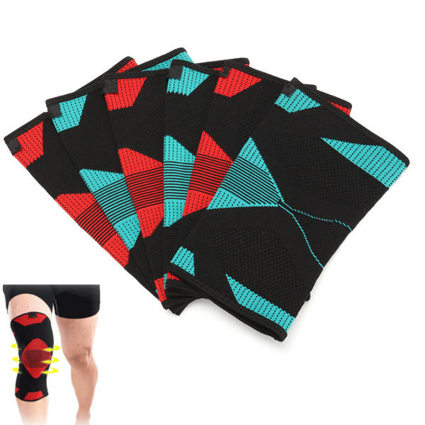 Sports Wrestling Fitness Knee Support Pad Mat Brace Guard Wrap Protector