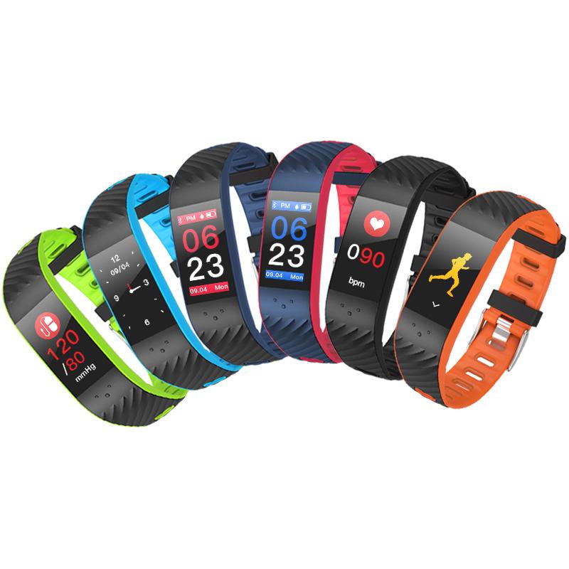 P4 Bluetooth Модернизированная версия Сердце Оценивают артериальное давление Монитор Смартфон для мобильного телефона