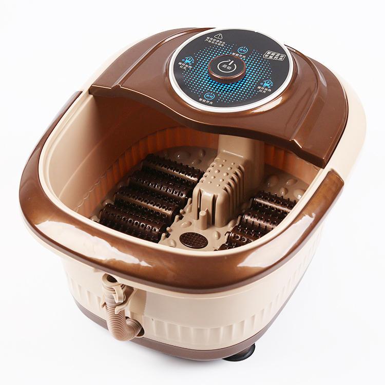 Automatic Heated Electric Foot Bath Massage Pediluvium Bucket Foot ...