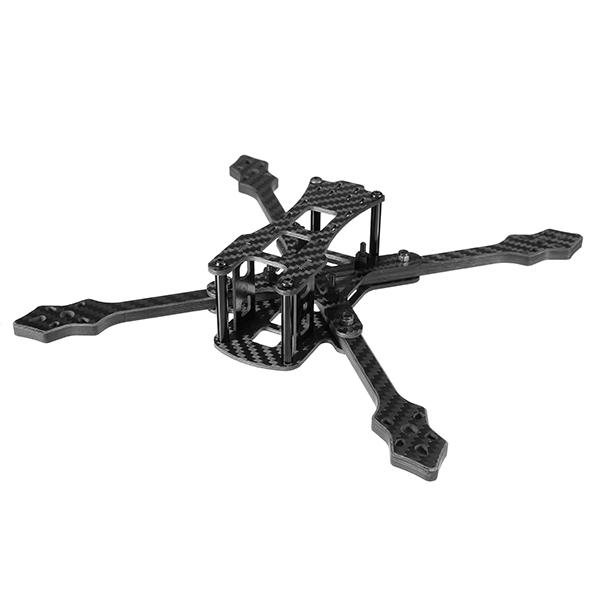 Realacc Furious 220mm Carbon Fiber 6mm Arm FPV Racing Frame Kit 97g voor RC Drone FPV Racing