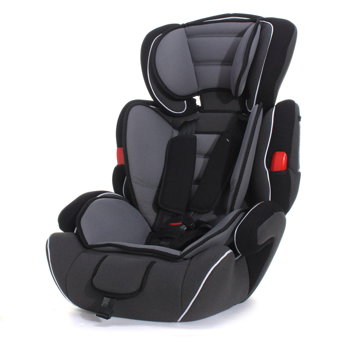 Black Convertible Baby Kid Children Car Safety Seat Booster Group 1 2 3 9 36 Kg Series A Cod