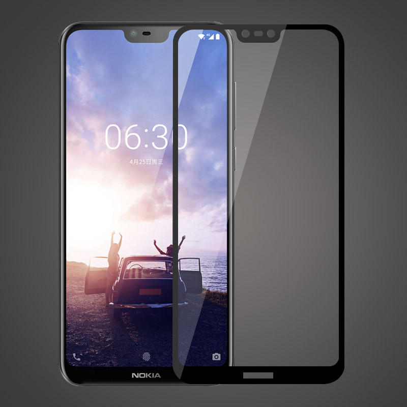 Bakeey™ Anti-explosion Full Cover Tempered Glass Screen Protector for Nokia X6 6.1 Plus
