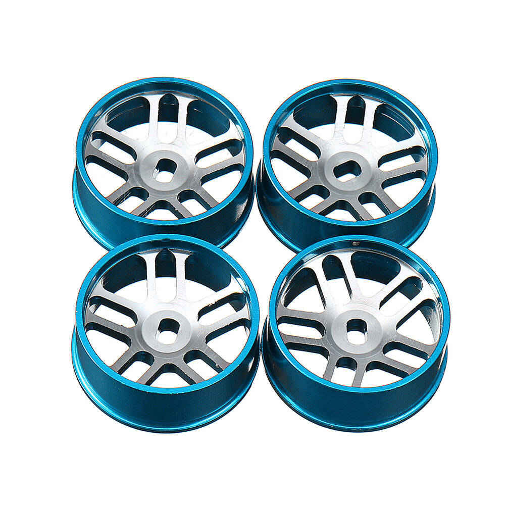 4PCS Wltoys Metal Hub RC Car Wheel 1/28 For K989 And IW04M RC Car