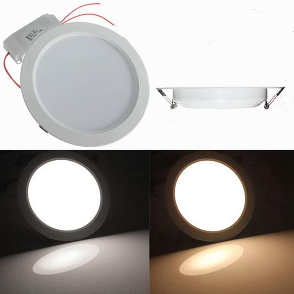 15w herum LED in eine Nische gestellte Deckentafel unten Licht mit dem Fahrer