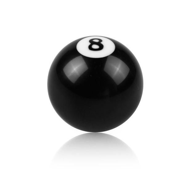 Черный 8 шар бильярда ручка переключения передач ручка головки