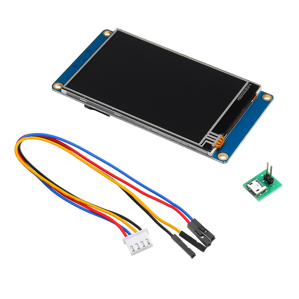 Nextion NX4832T035 3.5 Inch 480x320 HMI TFT LCD Touch Display Module Resistive Touch Screen For Raspberry Pi 3 Arduino Kit