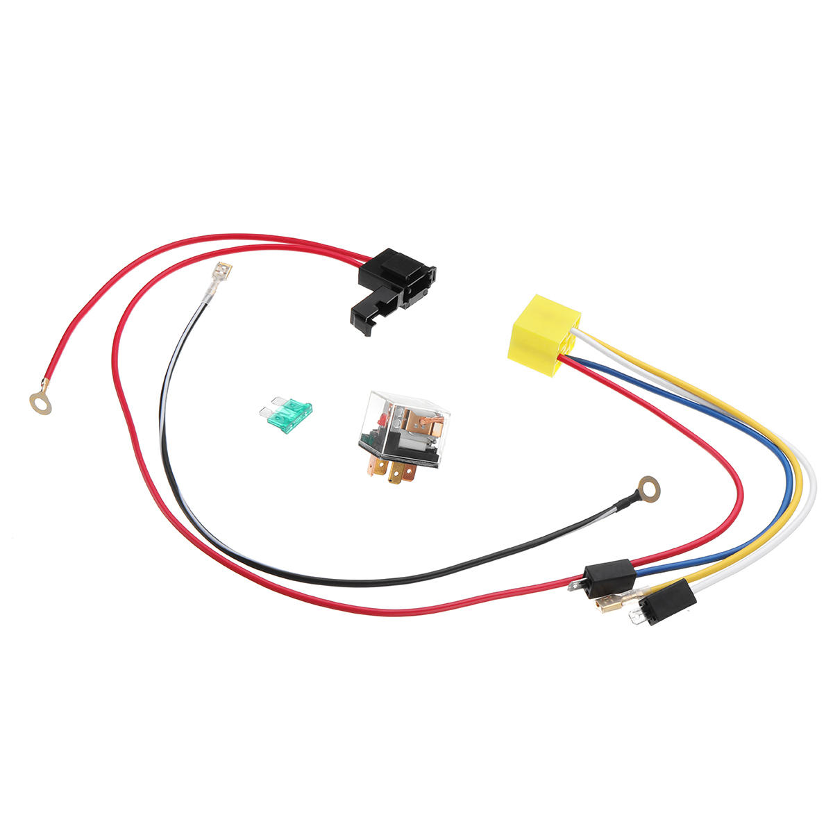 Astonishing 12V Dual Tone Electric Air Horn Wiring Harness Relay For Car Truck Wiring Digital Resources Funapmognl