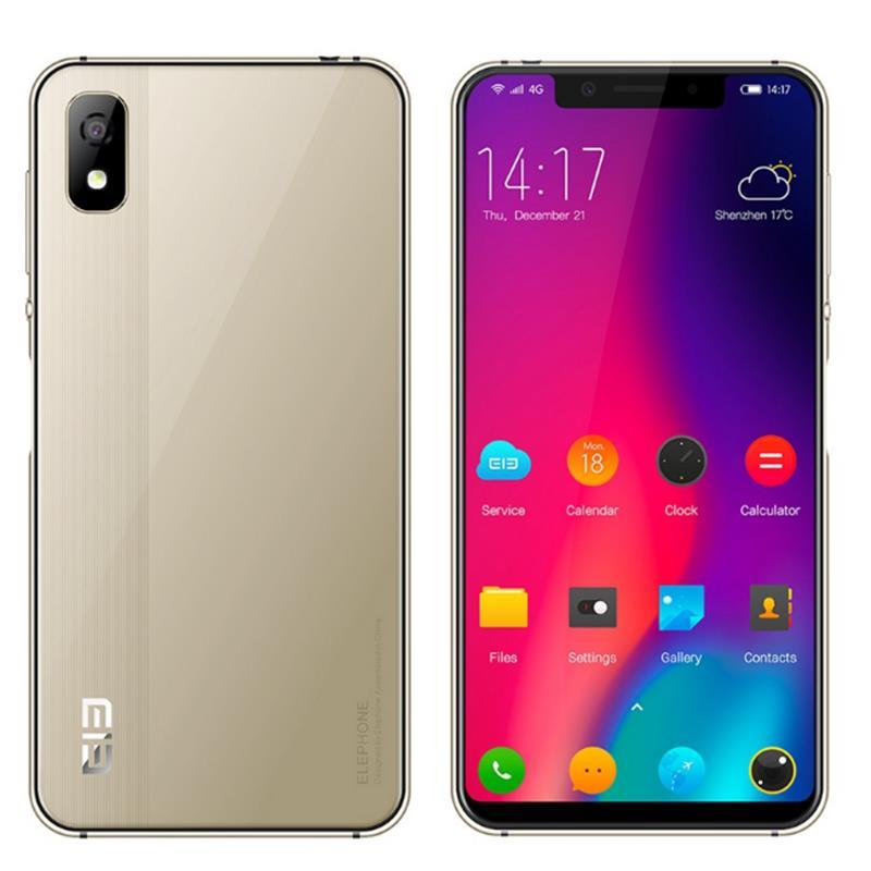 Elephone A4 5.85 Inch 19:9 Side Fingerprint Android 8.1 3GB 16GB MT6739 Quad Core 4G Smartphone