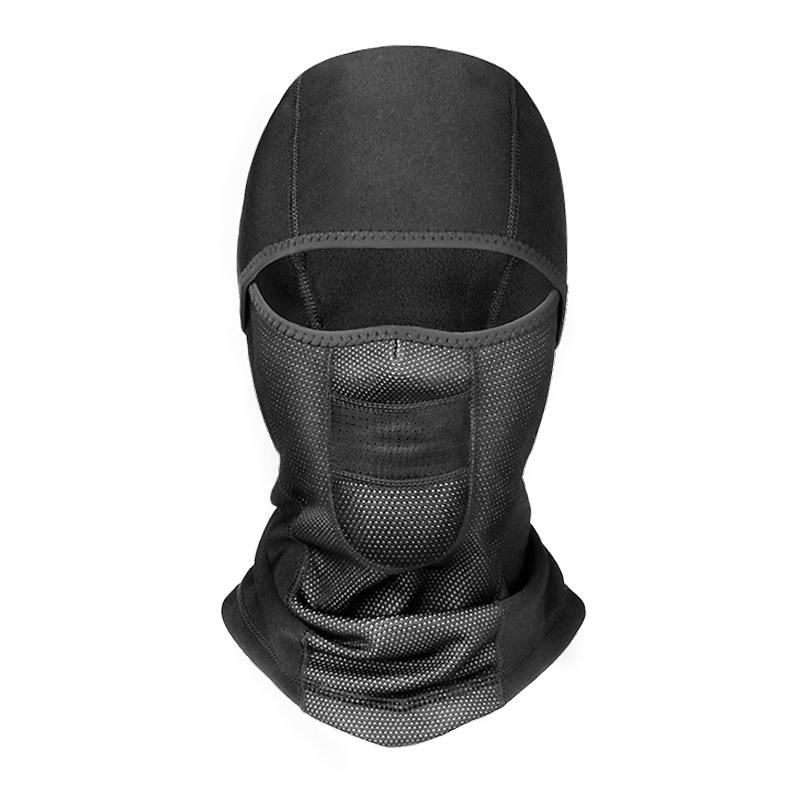 Winter Motorcycle Cycling Full Face Mask Thermal Waterproof Windproof Anti-dust