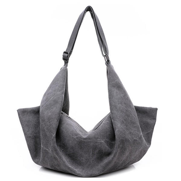 381f11a8256e Women Canvas Hobo Tote Handbags Casual Shoulder Bags Vintage Crossbody Bags  Multifunction Backpack