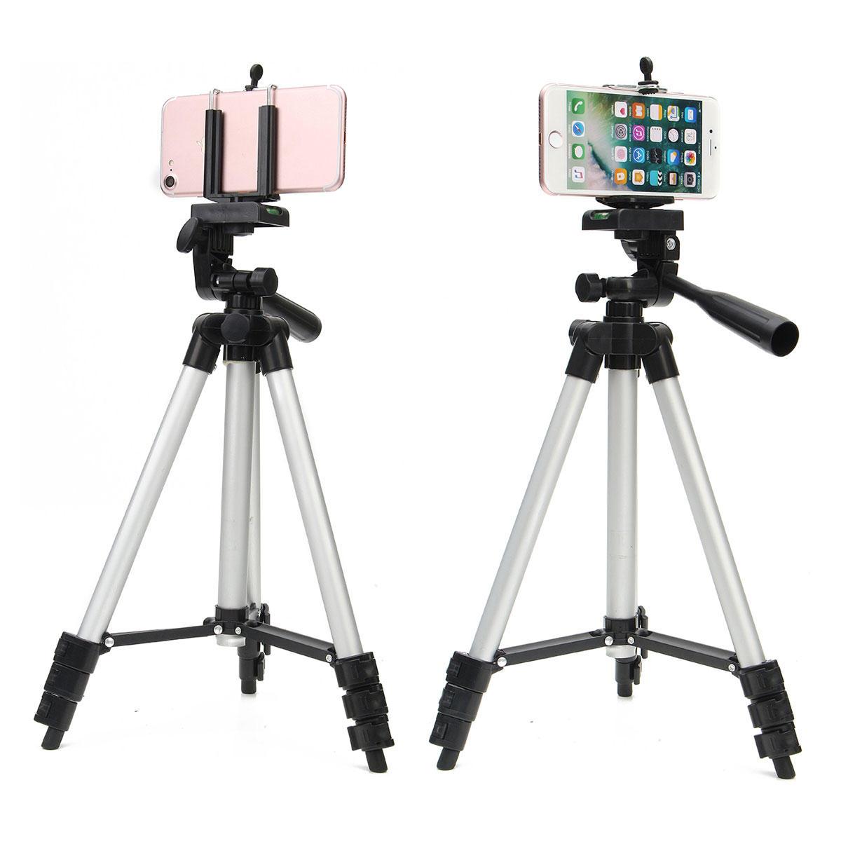 Trépied de la Caméra Professionnelle Soutien Réglable Live Perche de Selfie pour iPhone Samsung