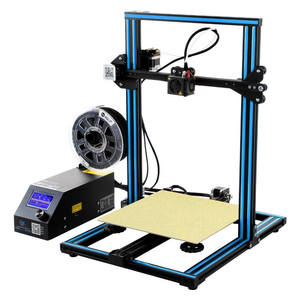 Creality 3D® CR-10 Bleu DIY 3D Kit d'Imprimante 3D 300*300*400mm Taille de Buse d'Impression 1.75mm 0.4mm
