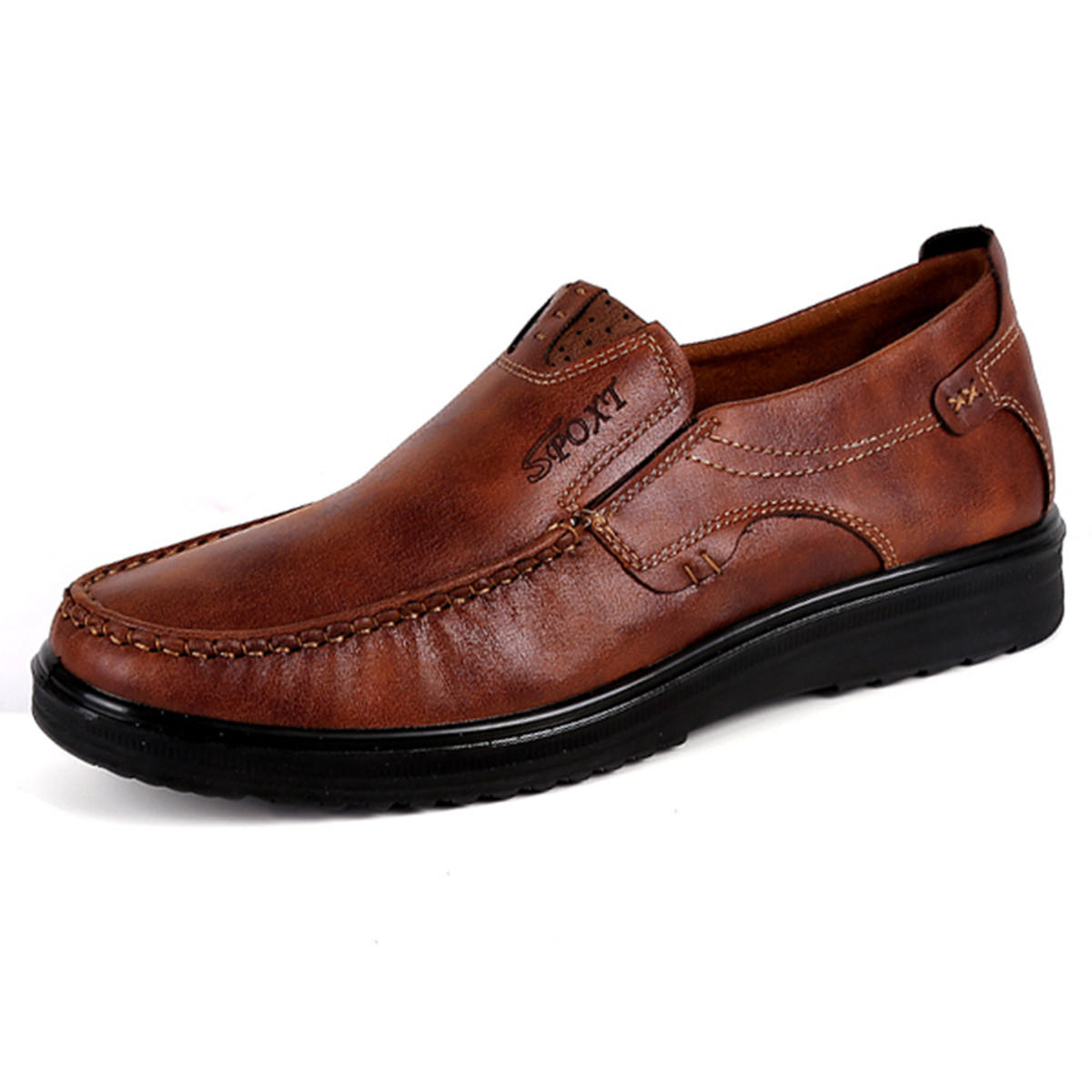 85a08e238eb Menico Large Size Men Comfy Casual Microfiber Leather Oxfords Shoes COD.  Brand  Menico
