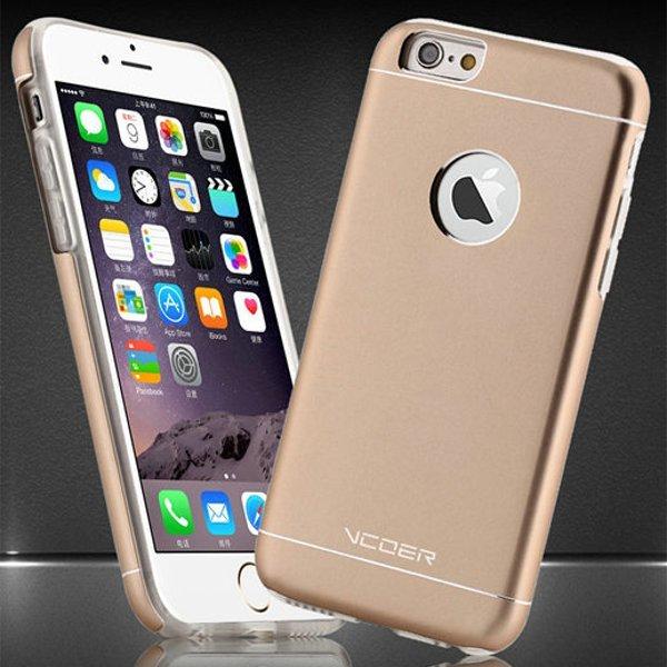 Alluminio di vcoer tpu graffio di granata di protezione in serie caso resistente per l'iPhone 6 6s 6plus 6s più