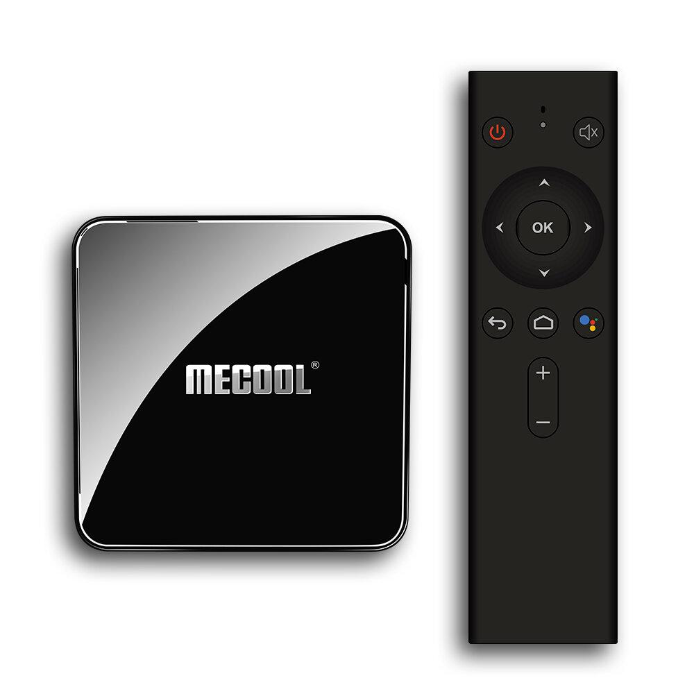Mecool KM3 ATV Certificata da Google S905X2 4 GB LPDDR4 64GB Android 9.0 5G WIFI BT4.0 Controllo vocale TV Scatola