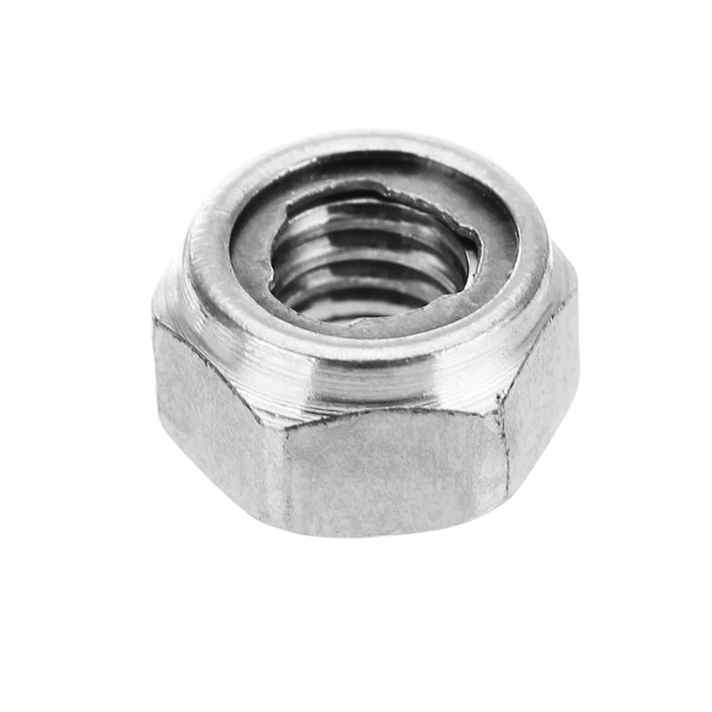 Self Locking Nut >> Suleve M4sn2 10pcs M4 304 Stainless Steel Hex Self Locking Nuts