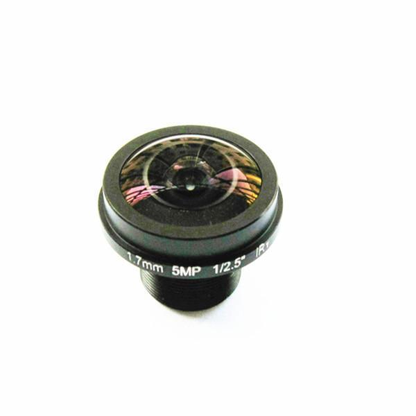 "1 / 2.5 ""1.7mm 5MP M12 IR Bloqué Grand Angle FPV Caméra Lentille"