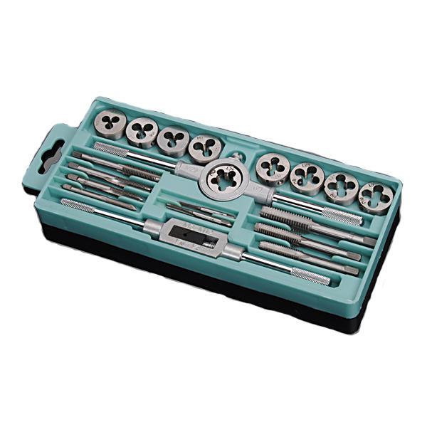 20pcs  M3-M12 Screw Thread Metric Plugs Taps Tap wrench Die Wrench Set