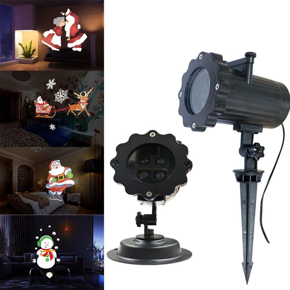 arilux® 12 patrones 4 led control remoto santa claus navidad en ...