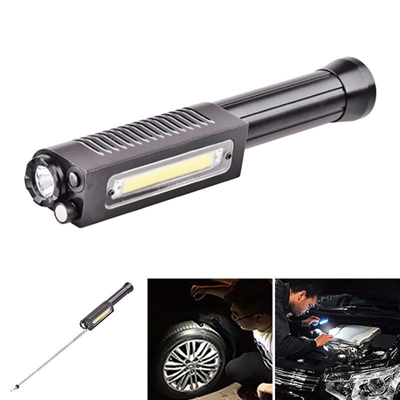 XANES XA003 1*XP-G2 S3+COB 1000LM Magnetic Tail Signal Light Magnetic Grabber LED Flashlight