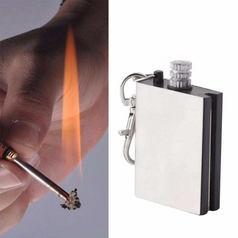 IPRee® Outdoor Ignitor Starter Fire Lighter Emergency Keychain Camping Instant Survival Tools