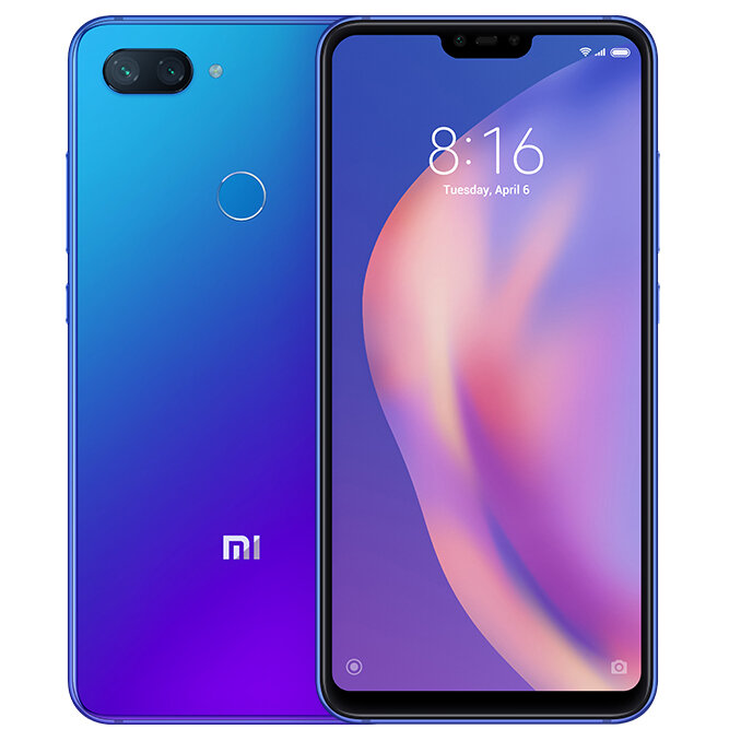 Xiaomi Mi8 Mi 8 Lite Global Version 6.26 inch 6GB 128GB Snapdragon 660 Octa core 4G Smartphone – Black