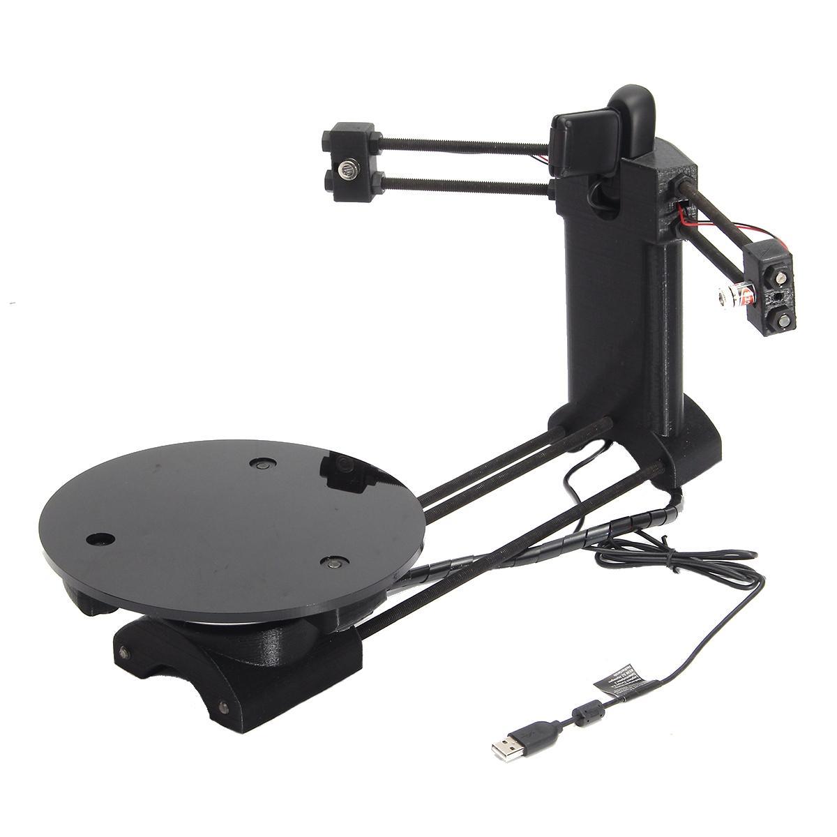 Zwart DIY 3D Laser Scanner Adapter Plaat Voor Ciclop 3D Printer