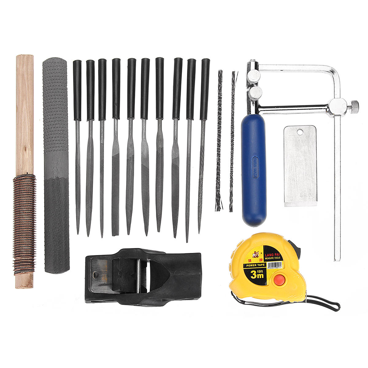 Nuovo 40pcs Woodworking Wood Carving Tool Kit Legno Curva Saw Planer