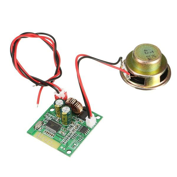5V-60V Intelligent Bluetooth Music Board With Two Connection Cable And Single Speaker For Skateboard Balanced Shilly Car