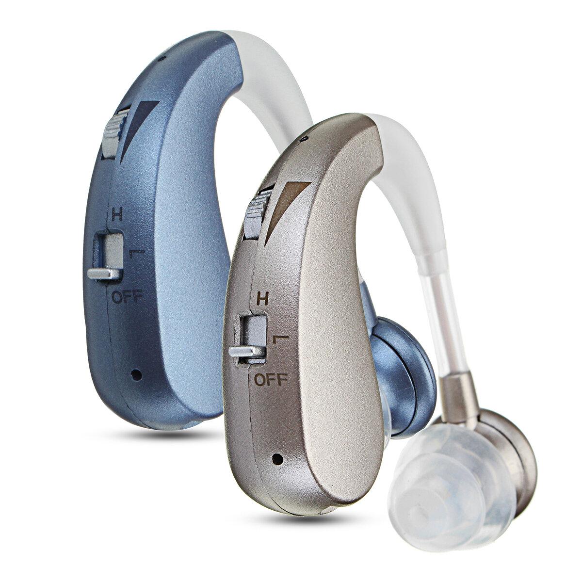 Recargable Audición Aids Audición Amplificador Cancelación adaptativa de reducción de ruido Cancelación de retroalimentación