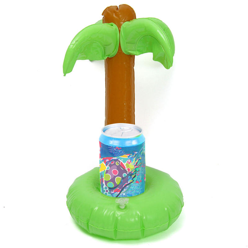 Inflatable Coconut Water Drink Coke Cup Holder Mobile Phone Holder Inflatable Toys
