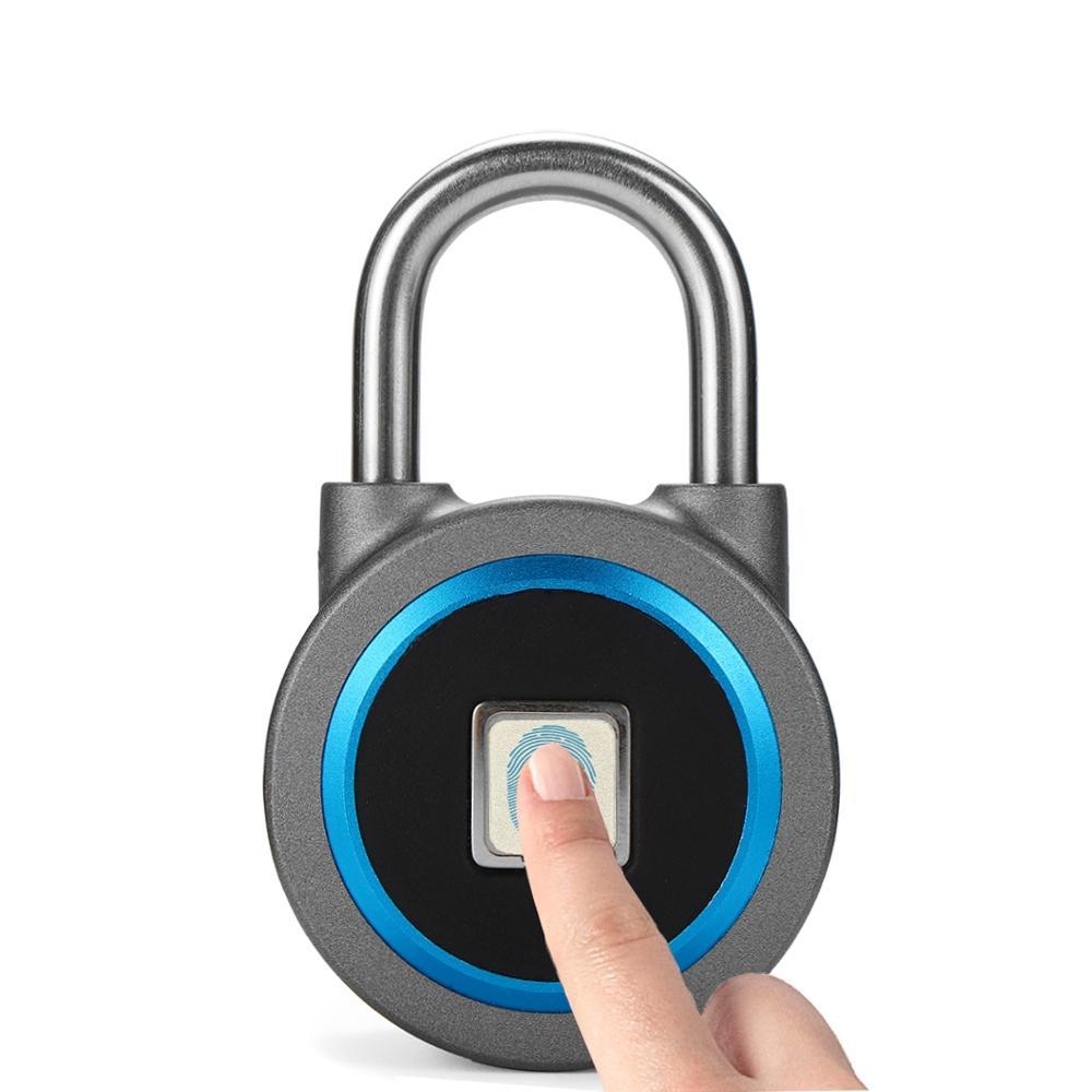 OKLOK Fingerprint Keyless Anti-theft Smart Lock Wireless Waterproof APP bluetooth Padlock