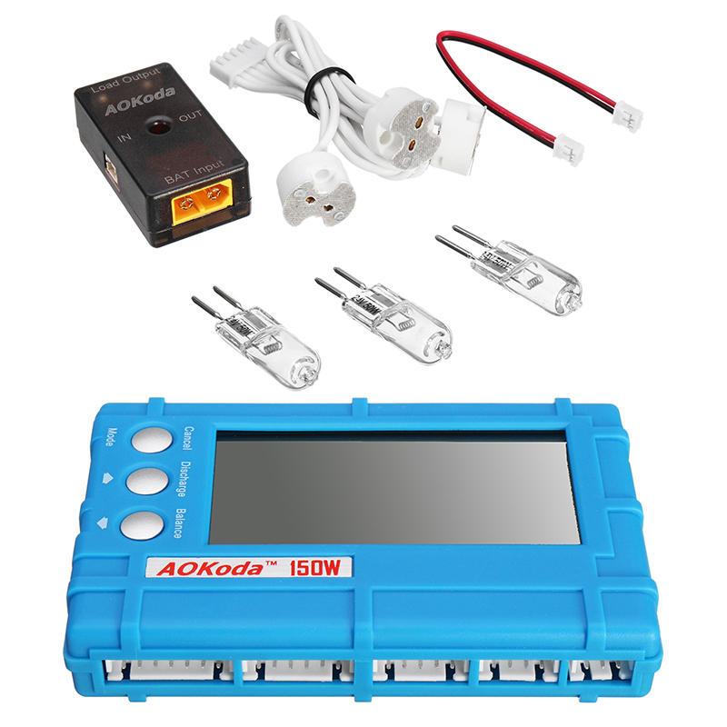 AOKoda CellMeter 8 150W Discharge Module Set with Lipo Battery Balancer