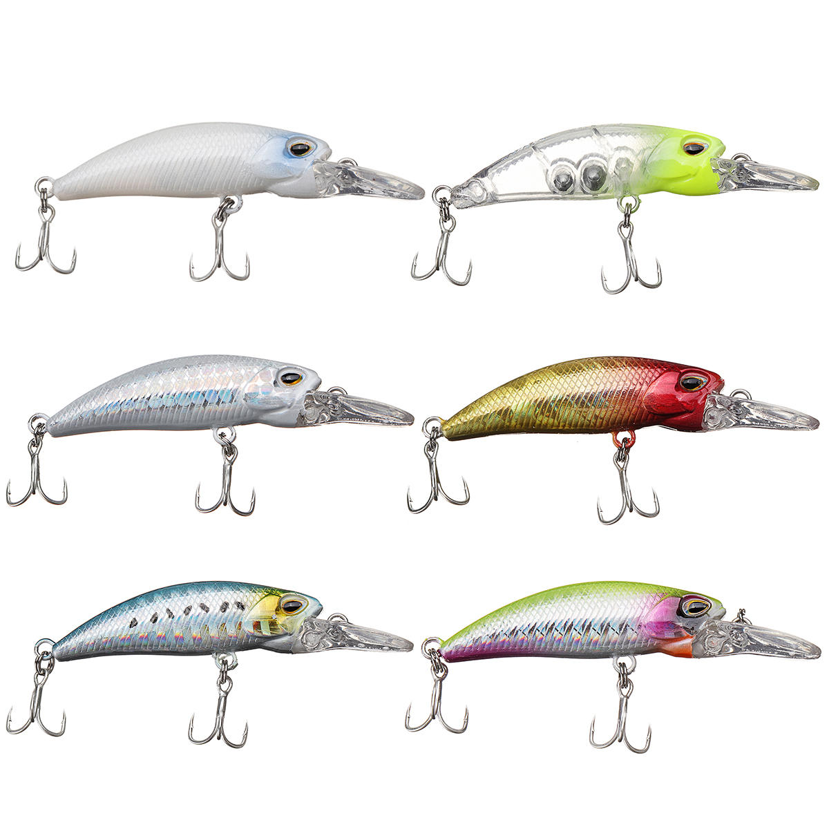 1 Pcs Fishing Lure Outdoor Hunting Fishing Fish Bait Fish Crank Baits Fishiing Tools