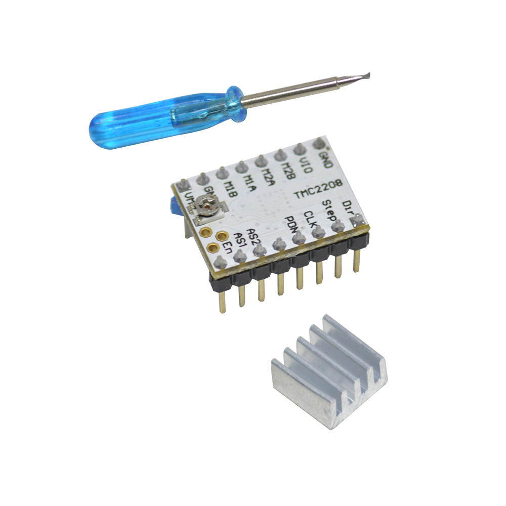 Geeetech® Ultra-quiet TMC2208 Stepper Motor Driver + Heatsink + Screwdriver Kit For 3D Printer