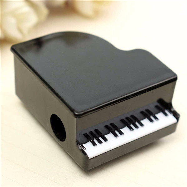 Plastic Piano Shape Pencil Sharpener For Kids Children School Supplies Gift