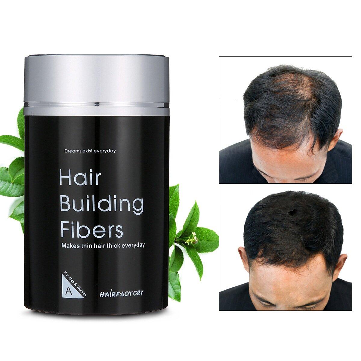 DEXE 22g Hair Building Fibers Black Makes Hair Thick