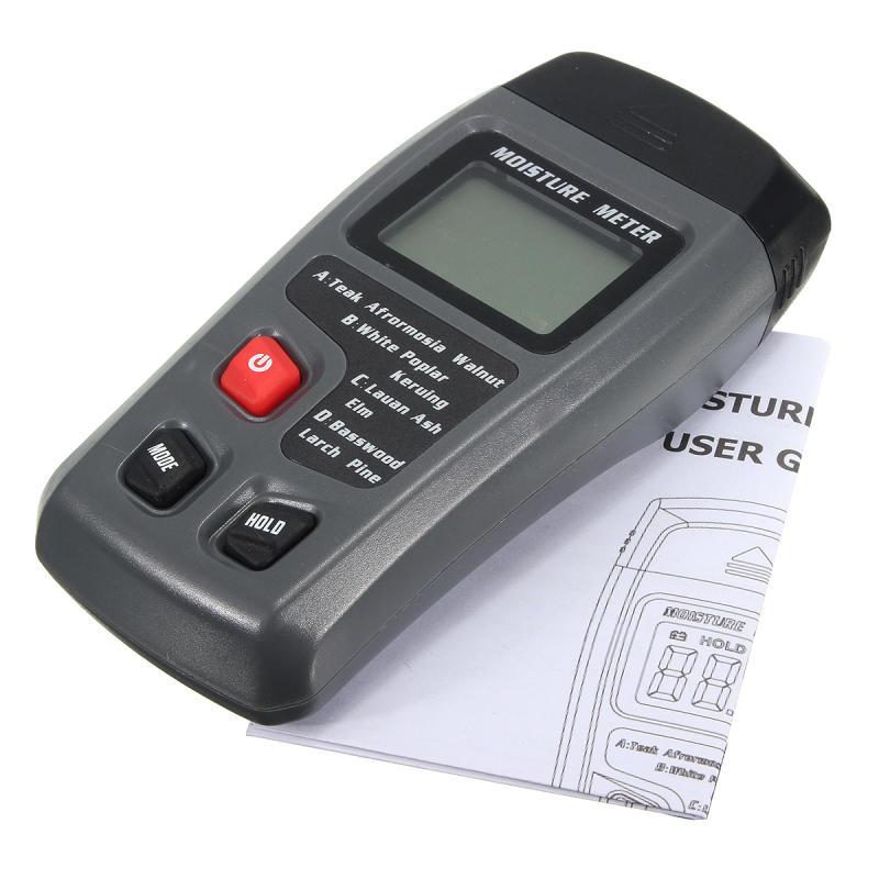 9V Batterie Détecteur d'humidité numérique Détecteur d'humidité Détecteur d'humidité du bois