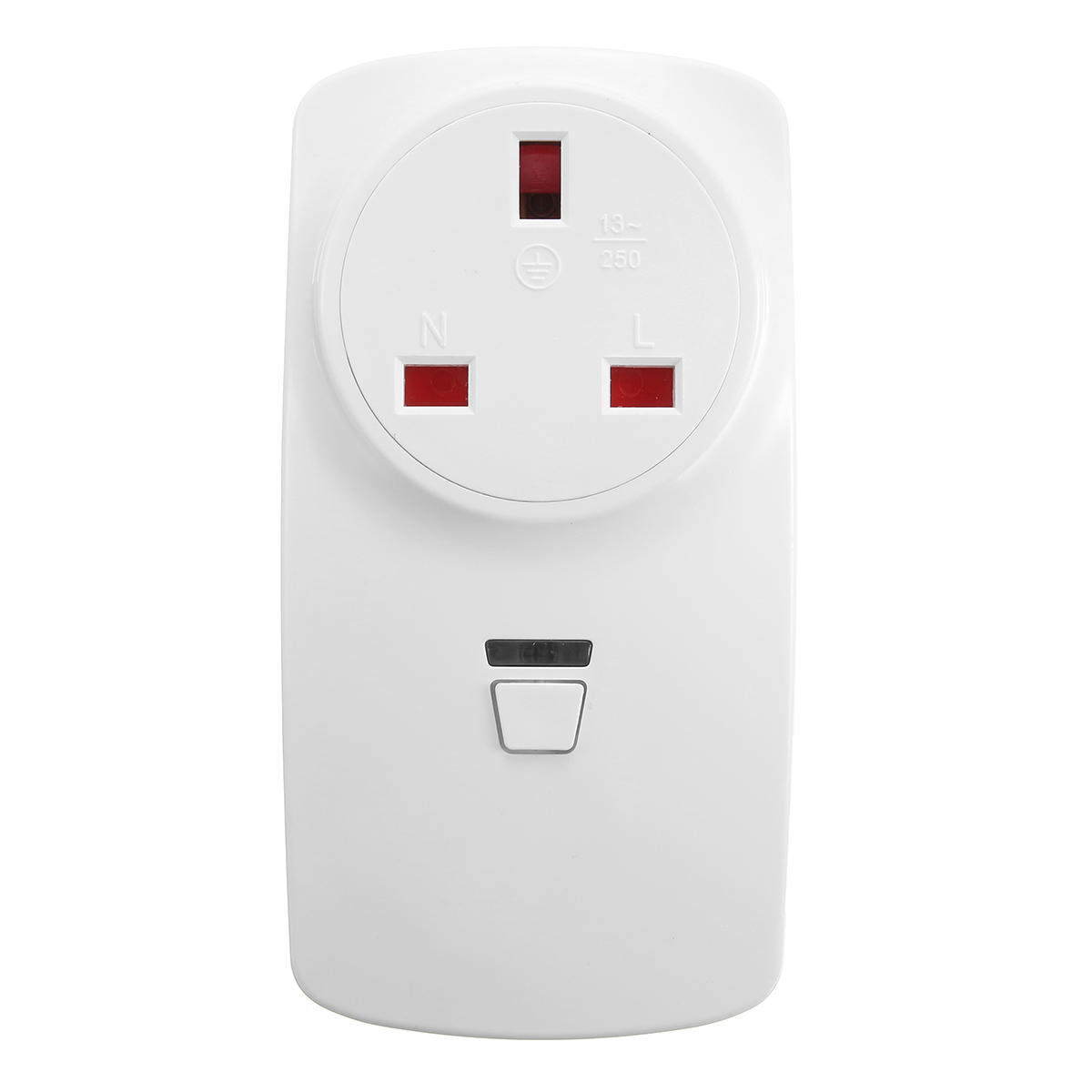 Claite 16A UK Plug Wifi Wireless remoto Smart Switch Tomada Plug Outlet Timer APP para ECHO ALEXA