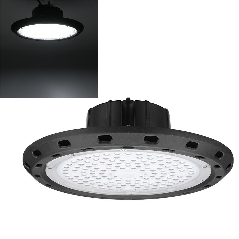 100w 5000k 140 led ufo high bay flood light fixture waterproof cod