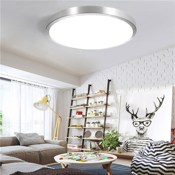 12w 24w Modern Acrylic Led Ceiling Light Round Flush Mount