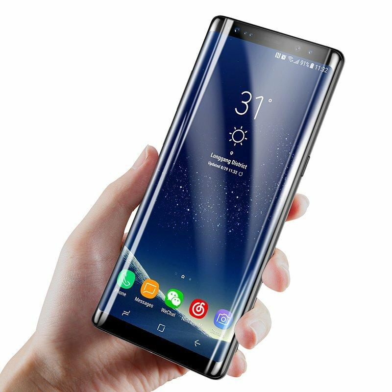 Bakeey Pellicola vetro temperata 3D curva 3D per Samsung Galaxy Note 8
