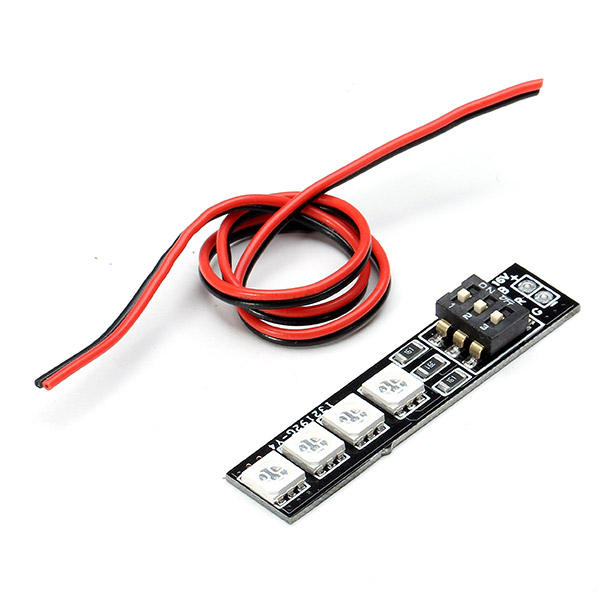 Diatone RGB LED Tablero 16V 4S RGB5050 7 Colores para RC Drone FPV Racing Multi Rotor